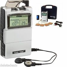 Electrical Stimulation Massage Tens Unit 7000 Machine Muscle Therapy Pain Relief