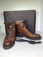 FRYE Womens Alta Hiker Women Sz 6M Cognac Distressed Leather Ankle Boots X1-531
