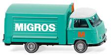 """Voitures de vente (borgward) """" Migros """" 1957-61 Wiking 027901 Échelle H0 1 87"""