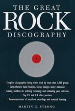 The Great Rock Discography Martin C. Strong (1998, Hardcover, Revised) 1st US Ed