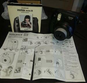 appareil photo instantané FUJIFILM Instax mini 8 comme Polaroid avec 9 photos