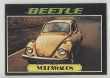 1976 Topps Autos of 1977 #94 VW Beetle Non-Sports Card 0a2