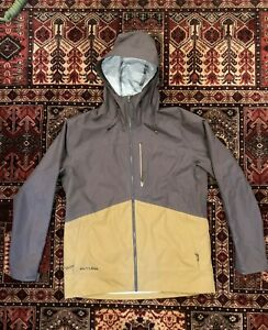 Flylow Knight Jacket -  XL - Shale/Rye - Ski Snowboard Waterproof Shell