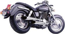 Cobra Exhaust Chrome Hot Rod Classic Delux Cut Honda Shadow Sabre 1100 00-07