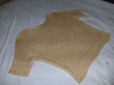 Chicos sweater size 3, (14-16) XL, yellow mustard color dolmen sleeves