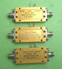 1pcs Used Good MITEQ AFD3-0170184-25P 1-2GHz 30dBm SMA RF Amplifier #CL4M
