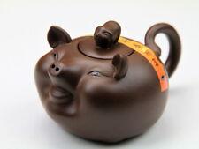 Schwein Teekanne Chinesisches Horoskop Tierkreiszeichen Tierzeichen Yixing Ton