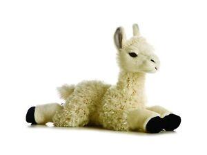"Aurora 12"" White Llama Plush Stuffed Animal  (FAST Shipping)"