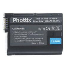 Take TK-EN-EL15C Batteria Li-Ion 2000mah Compatibile Sostituisce Nikon EN-EL15