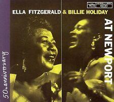 Ella Fitzgerald & Billie Holiday at Newport CD Verve jazz
