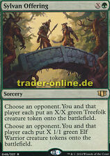Sylvan Offering (Waldverbundenes Präsent) Commander 2014 Magic