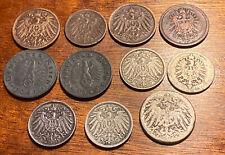 Lot monnaies Allemagne Empire