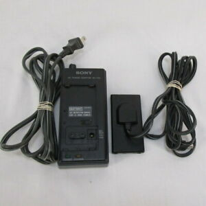 Sony AC-V30 and DK-80 Power Adapter and Battery Charger for Handycam Camcorder