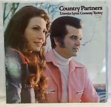 COUNTRY PARTNERS - vintage vinyl LP - Loretta Lynn and Conway Twitty