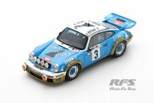 Porsche 911 Carrera RS 3.0 Winner Rallye Monte Carlo 1978 Nicolas 1:43 Spark NEU