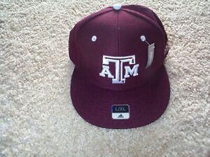 ($25) ADIDAS Texas A&M Aggies Jersey Adult MENS/MEN'S Hat Cap Large/XL (L/XL)