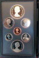 COFFRET PRESTIGE ROYAL CANADA 1983 BE (avec 1 dollar Argent 1983 BE) - NEUF