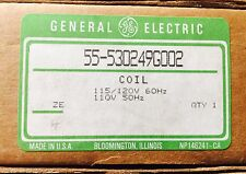 NIB GE 55-530249G002 Contactor Coil 115-120V Brand New In Box