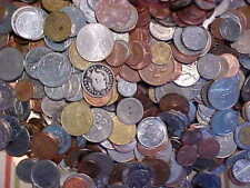 Large Bulk Lot of World Coins-(1) One Pound-more than 100 coins