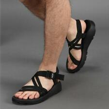 hot sale Men's Roman Cross Strap Flat outdoors Beach Casual Sandals Shoes