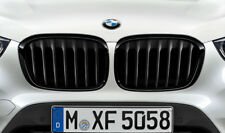 Original BMW Ziergitter X1 F48 M-Performance Nieren Schwarz Grill Gitter SET
