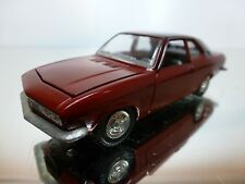 AHC MODELS SPAIN - OPEL MANTA - DARK RED 1:43 - EXCELLENT CONDITION 4