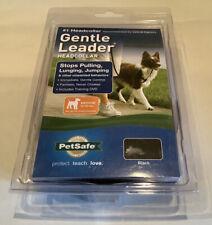 PetSafe Gentle Leader Headcollar No-Pull Dog Collar Black. Medium.New