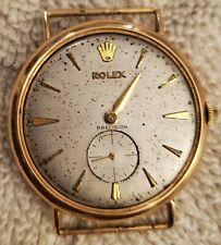 Authentic Vintage 18k Rose Gold ROLEX Precision Ref 4399
