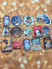 New ListingLot Of 14 Disney Movie Pins Buttons Advertising