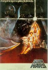 Star Wars Postcard # 38 (Star Wars Film Poster repro) (USA, 1991)