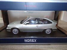 OPEL KADETT GSI 1987 - ARGENT -  NOREV 1/18° NEUVE EN BOITE