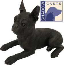 Large 106 Cubic Ins Boston Terrier ShadowCasts Bronze Urn for Cremation Ashes