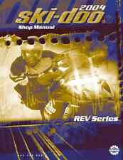 2004 Ski-Doo REV series GSX MK Z Summit snowmobile service manual in binder