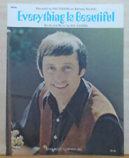 Everything Is Beautiful - 1970 sheet music - Ray Stevens photo cover