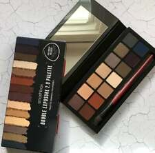 SMASHBOX DOUBLE EXPOSURE 2.0 EYE SHADOW PALETTE WITH BRUSH 14 COLORS NEW IN BOX