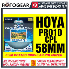 Genuine HOYA Pro1D Pro-1 Digital Multi-Coated Filter DMC LPF Polarizer CPL 58mm