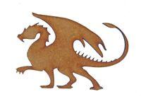 Dragon MDF Laser Cut Craft Blanks in Various Sizes