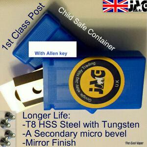 T8 Steel Screwfix Titan Garden Chipper blades TTB353Shr/TTB355hr Shredder