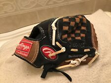 """Rawlings Savage PP95DP 9.5"""" Youth Baseball T-Ball Glove Ages 3-5 Right Throw"""