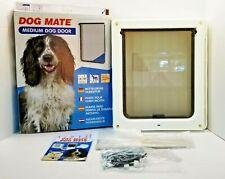 DOG MATE Medium Dog / Cat / Pet Door Ref: 215W - New - Open Box