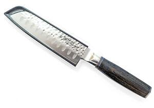 "New Baccarat Damashiro Emperor Santoku Japanese Steel Knife 12.5cm ""Try Me"""