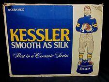 Kessler Whiskey Box for Six Football Player Decanter 1980 Box Only