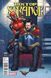 Doctor Strange #4 Regular & Deadpool Variant Cover Marvel Disney 2016