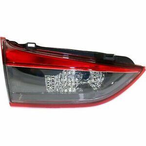 MAZDA 6 2014-2015 LEFT DRIVER INNER TAILLIGHT TAIL LIGHT REAR TRUNK LID LAMP