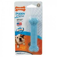 Nylabone Puppy Dog Chew Dental Bone Chew Toy USA ~ PICK COLOR