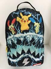 Sprayground Pokemon Pikachu Electric Shark Backpack