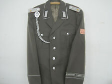 NVA Uniform-Jacke Gr.50 Fr. Engels Fasching Ostalgie Schützenschnur Effekten FDJ
