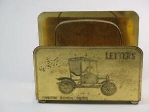 VIntage Brass Letter Rack Veteran Car Austin Seven