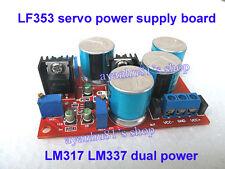 AC/DC LF353 Servo Regulated Power Supply Board LM317 LM337 Adjustable Dual Power