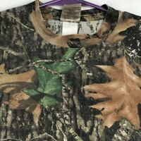 Jerzees Men's Short Sleeve T Shirt Large L Green Brown Camouflage Camo Hunting